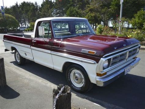 ford f100 ranger xlt find used 1972 ford f100 ranger xlt truck 390 at fact ac ps pb clean original in