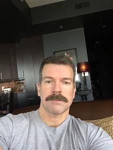 Classic chevron moustache - Moustaches men, Mustache ... Male pattern baldness