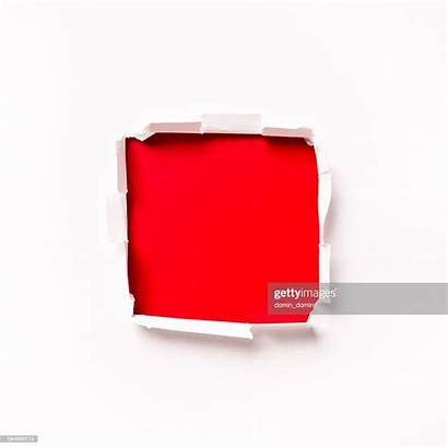 Square Shaped Hole Paper