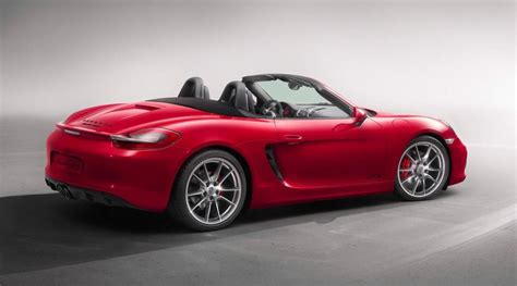 2015 Porsche Boxster And Cayman Gts