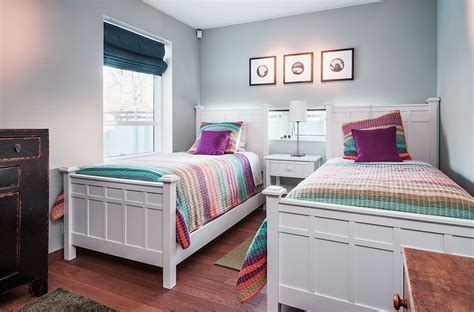 20 Marvelous Twin Bedroom Design Ideas