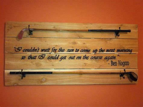 golf club display customizable golf quote golfer quotes etsy dude gifts unique golf gifts