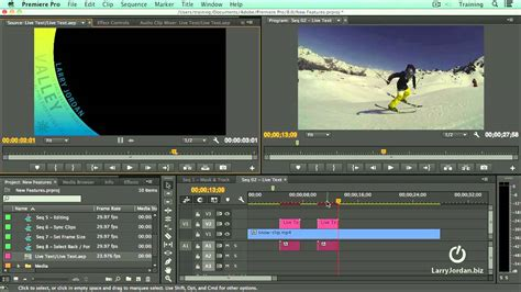 premiere pro templates using live text templates inside premiere pro cc 2014
