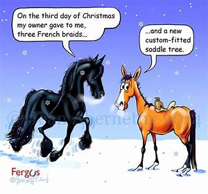 3rd..... | Hors... Funny Christmas Horse Quotes