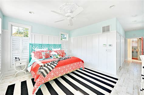 Mediterranean turquoise room ideas a basic mix of numerous shades of the color can lead to an appealing mediterranean house. Aqua and Coral for a Fresh Summer Color Scheme