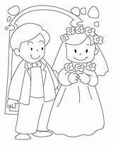 Coloring Groom Pages Bride Printable Personalized Sheets Colouring Activity Pdf Table sketch template