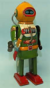 Space Robot Wind Up Toys