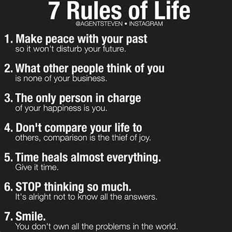3 Rules Of Life  Wwwpixsharkcom  Images Galleries With A Bite