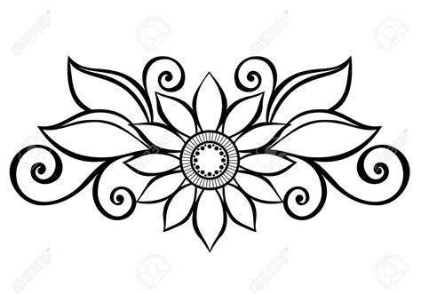 flowers design drawing  getdrawingscom