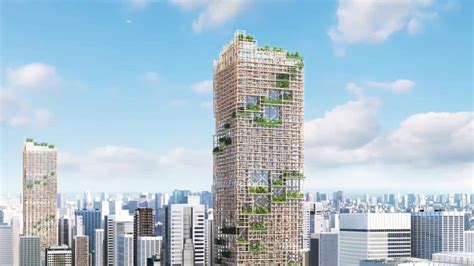 japanese company plans worlds tallest wooden building
