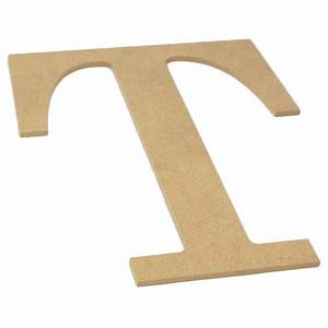 10quot decorative wood letter t ab2044 craftoutletcom With decorative letter t