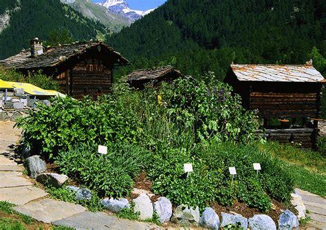 ricola kraeutergarten zermatt schweiz