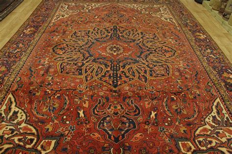 Rust Colored Rug by New Oversized Rust Color 10x14 Heriz Persian Oriental Area