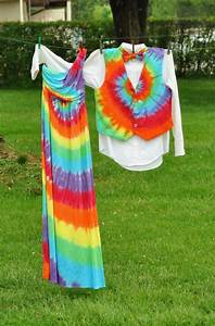 custom tie dye gown dress perfect for homecoming by With tie dye wedding dress