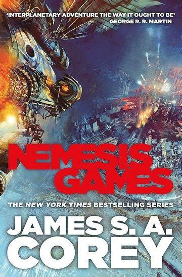 expanse series  nemesis games james   corey znanje