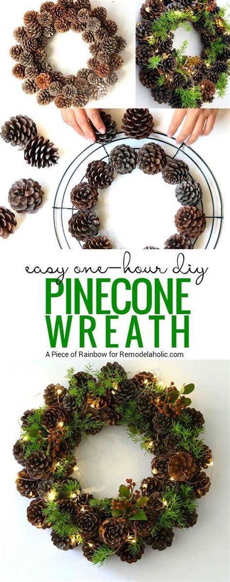 gorgeous diy christmas wreath ideas  decorate  holiday season