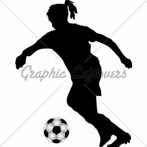girl soccer player silhouette - Google Search | diy art ...