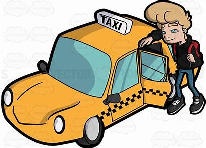 Taxi Clipart Take Cab Driver Clip York