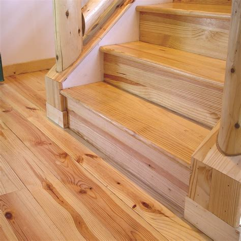 Southern Pine Stair Treads WI   Weekes Forest Products
