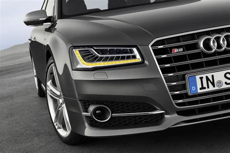 audi matrix headlights led matrix headlights of the 2014 audi a8 indian autos blog
