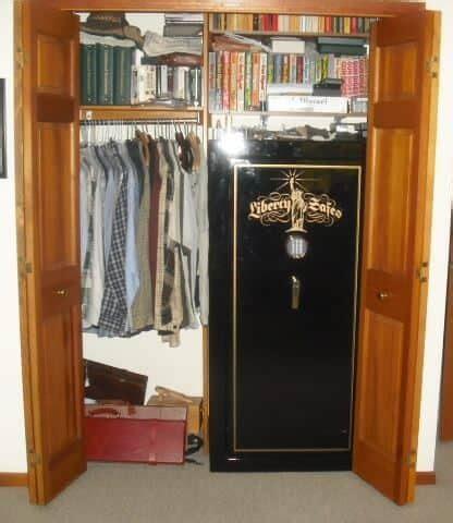 Safe For Closet where to put a gun safe find the best place gun safe