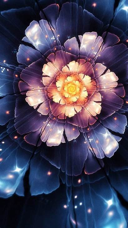Abstract Flower 3d 4k Wallpapers Android Resolutions