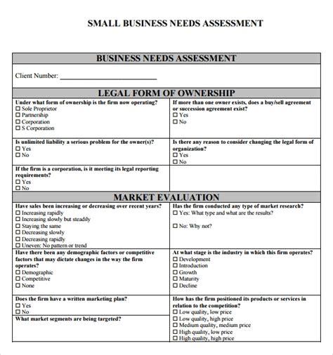 assessment template needs assessment template peerpex