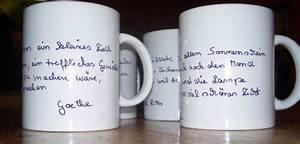 Tassen Zum Selbst Bemalen : tassen mit text bastelfrau ~ Markanthonyermac.com Haus und Dekorationen