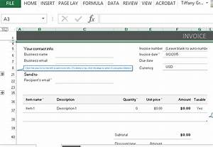 paypal invoicing template for excel With paypal invoicing system