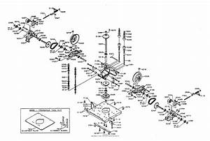 Dixon Ztr 3362  1995  Parts Diagram For Transaxle Assembly