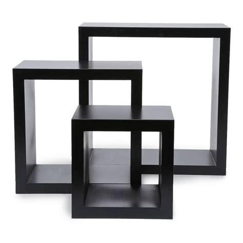 Square Shelves by 3pc Wall Cube Display Shelf Set Harbortown Square