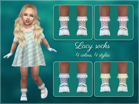 frilly socks  toddlers  giulietta sims  updates