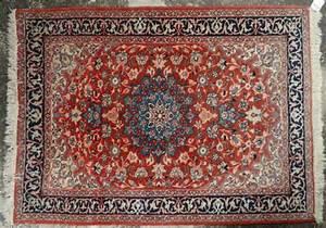 tapis laine et coton le champ rouge a cartouche et d With tapis rouge à vendre