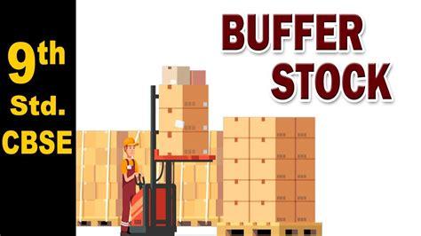 Buffer Stock | 9th Std | Economics | CBSE Board | Home ...