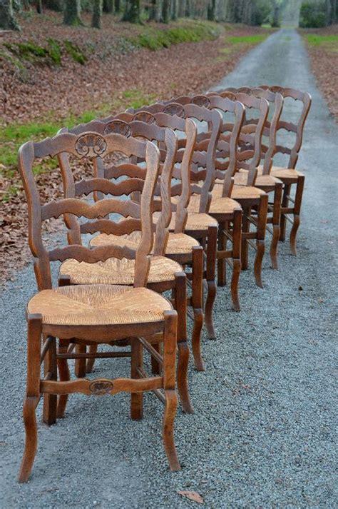 chaises paillées antique exports boutique vendu