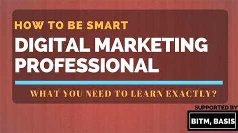 I Want To Learn Digital Marketing by Digital Marketing What You Need To Learn Exactly Must