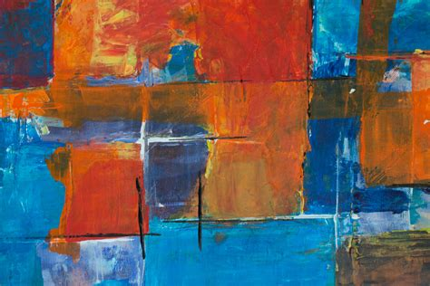 close  photography  multi coloured abstract painting