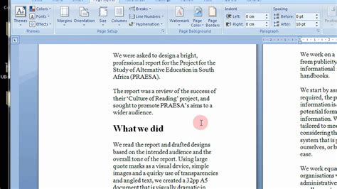 Booklet Template Microsoft Word 2007 How To Create Printable Booklets In Microsoft Word 2007