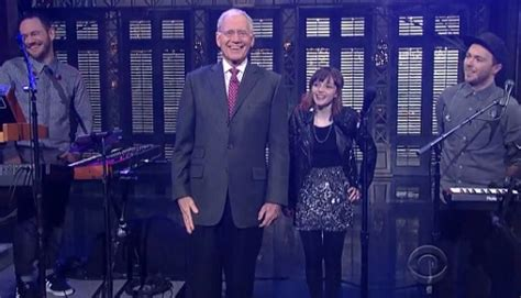 we sink chvrches fifa 14 chvrches perform quot we sink quot live on letterman the line of