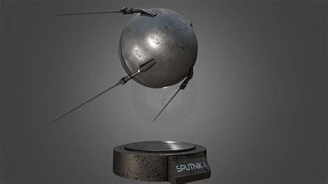Sputnik 1 Replica 3D model | CGTrader