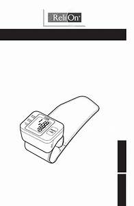 Download Relion Blood Pressure Monitor 6021rel Manual And