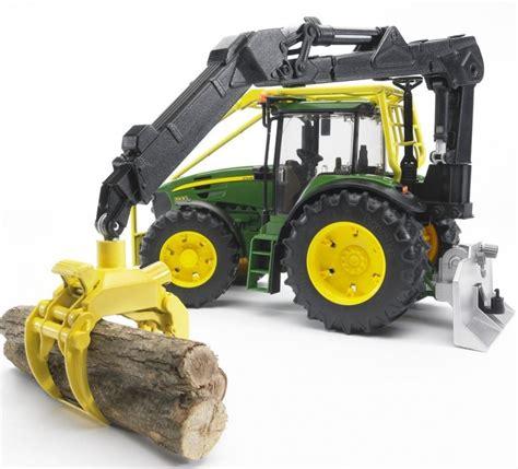 Bruder John Deere 7930 Forestry Tractor 03053 Farm Toys
