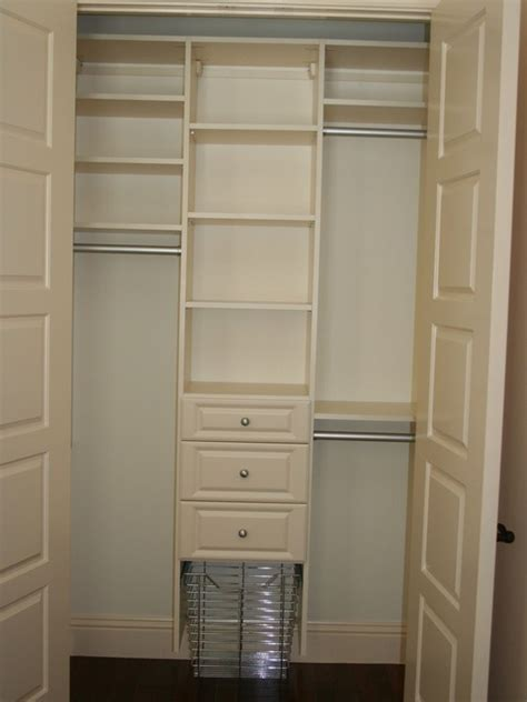 small closet design for dj