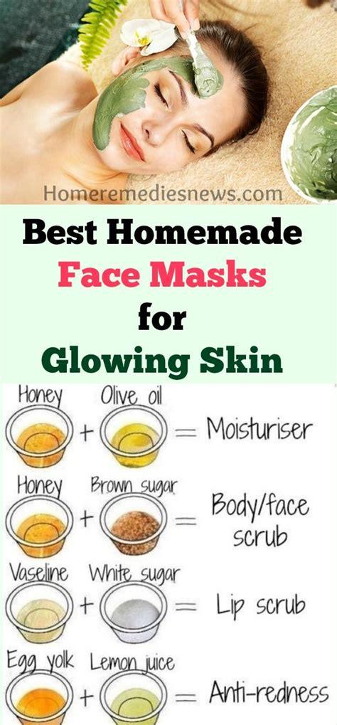 homemadediy face mask  acne scars anti aging