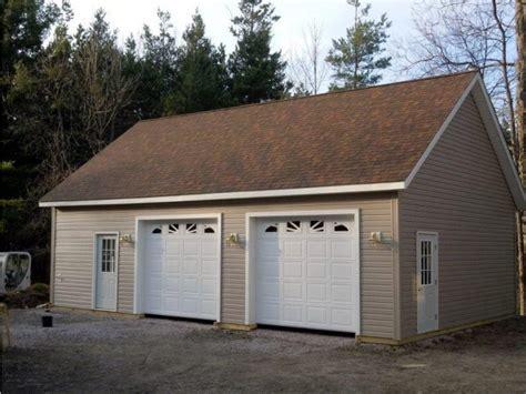 two car garage planning 2 car detached garage kits the better garages