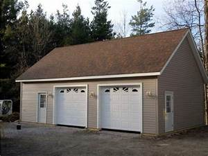 planning 2 car detached garage kits the better garages With 2 stall garage kits