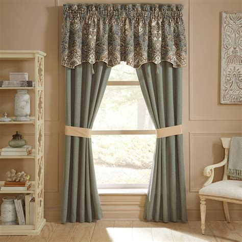 Pole Top Drapes - croscill rea pole top drapery set curtains drapes