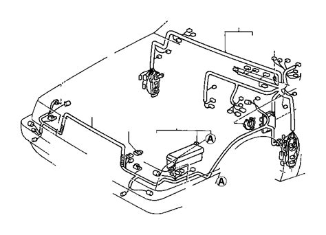 Toyota Runner Connector Wiring Harness