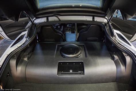 corvette subwoofer installation  melbourne jl audio