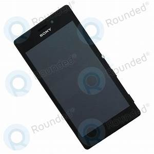 Sony Xperia M2 Aqua Display Module Frontcover   Digitizer